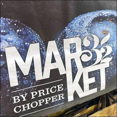 Market 32 Blueberry Branded Shopping Bag