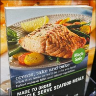 Create-Take-Bake Seafood Meals Flyer