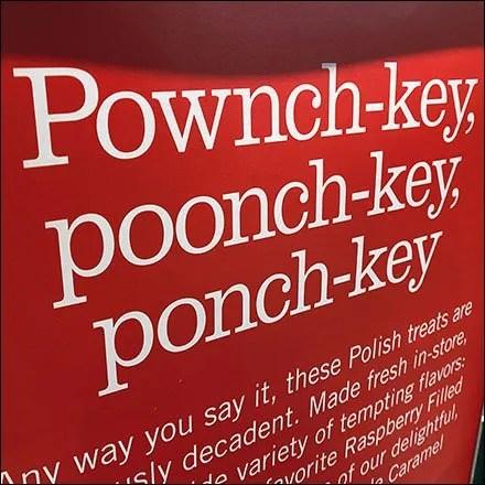 Polish Paczki Defined Promo Sign