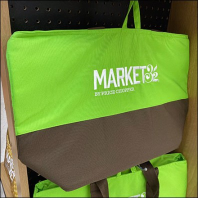 Market 32 Upscale Embroidered Shopping Bag