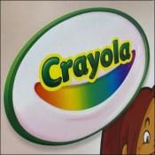 Crayola Color-Of-The-World Crayon Display