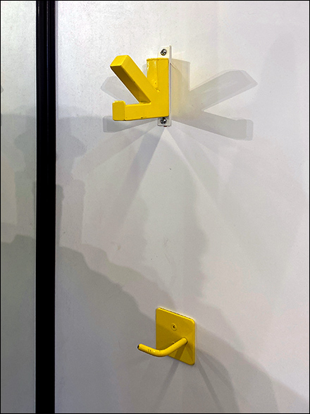 High-vs-Low Fitting Room Clothes Hooks