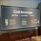 Panera Bread Craft Beverages Bar Outfitting