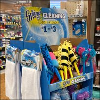 Colorful Spring-Cleaning Supplies Bargains