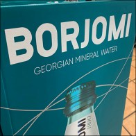 Borjomi Georgian Mineral Water Display