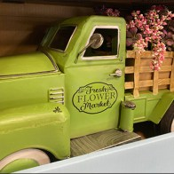 Flower Truck Delivery Decor Display