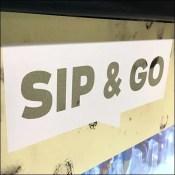 Sip-And-Go Cashwrap Cooler Merchandising