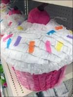 Holiday Piñata Endcap Shelf Display
