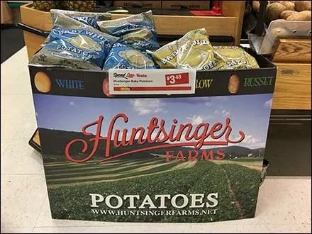 Huntsinger Farms Potato Point-of-Purchase
