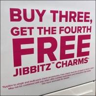 Jibbitz Fashion Charms Island Display