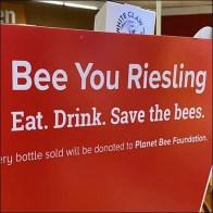 Bee-Friendly Bee-You Riesling Display