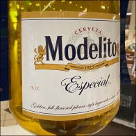 Giant Modelito Especial Small-Bottle-Big-Flavor Hero Display Feature2