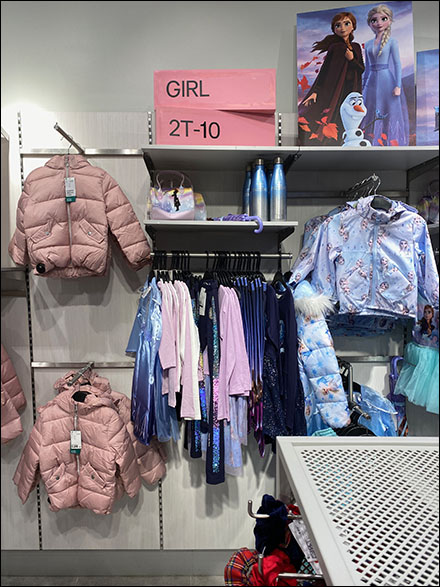 H+M Girl's Sizes Dimensional Sign