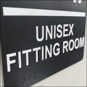H&M Unisex Fitting Room Iconography