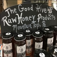 Good-Hive Raw-Honey Products Display