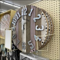 Old-Town-Clock Frame Holder Display