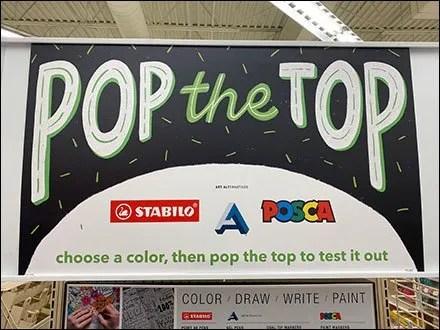 Stabilo Pop-The-Top Pen Test Challenge