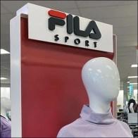 Fila-Sport Apparel Mannequin Display