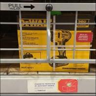 DeWalt Swing-Up Anti-Theft Gate Details