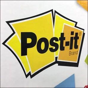 Michaels Make-It-Stick Post-It Note Display
