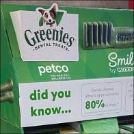 Greenies Dental Treats Corrugated Dimensionals