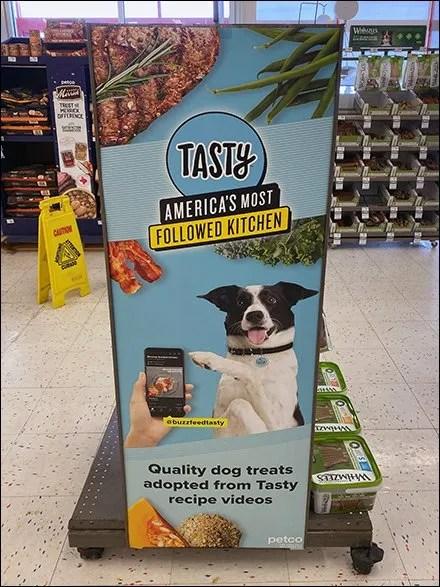 Tasty Petfood In-Store Endcap Billboard