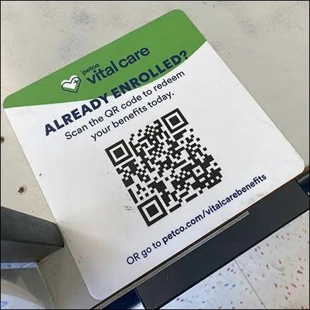 Vital Care Veterinarian Wellness QR-Code