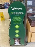 Whimzees Dog Treats Bulk Bin Display