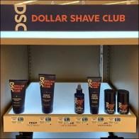 Dollar-Shave-Club Round-Corner Endcap Display