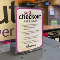 Self-Checkout Helpful Hints List Itemized