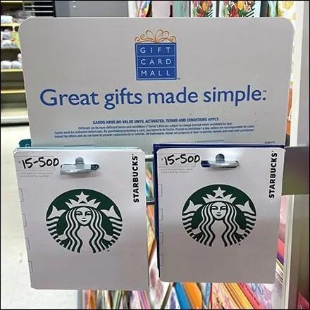 Starbucks Coffee Metal Butterfly Cross-Sell