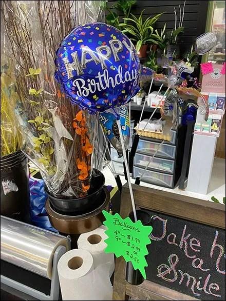 One-Up Balloon Teaser Cross-Sell