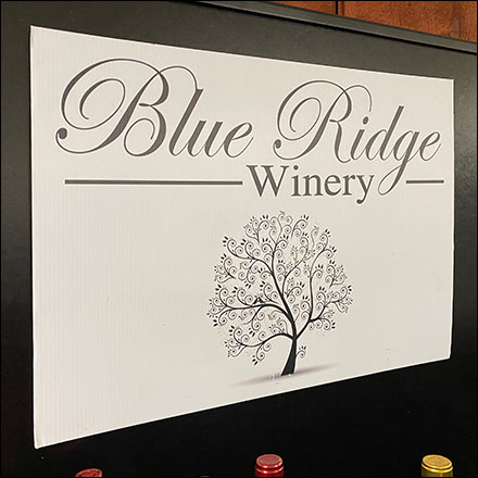 Blue-Ridge-Winery Branded Gondola Merchandising