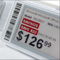 Microsoft-Office Electronic Price Tag