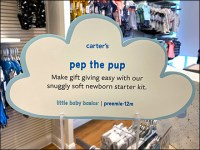 Little-Baby-Basics Pep-The-Pup Cloud Sign