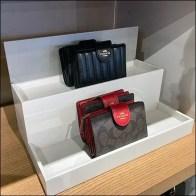 Coach Clutch-Purse Tiered Shelf-Top DisplayCoach Clutch-Purse Tiered Shelf-Top Display