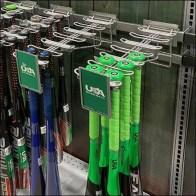 Branded Baseball-Bat Bar-Mount Faceouts