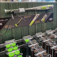 Baseball-Bat Hero Scan-Hook Mount Innovation
