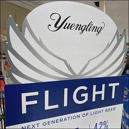 Yuengling Flight Light-Beer Stack Tower Display