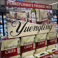 Yuengling Freshest-Beer Inline Stack DisplayYuengling Freshest-Beer Inline Stack Display