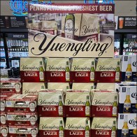 Yuengling Freshest-Beer Inline Stack Display