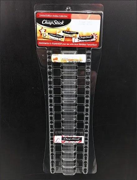Chap-Stick Lip-Balm Magnetic Strip Merchandiser