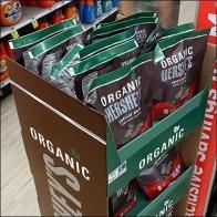 Hershey's Organic Dark-Chocolate Tower Display