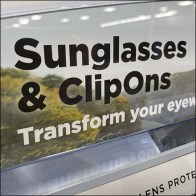 Combined Sunglasses And Clip-Ons DisplayCombined Sunglasses And Clip-Ons Display