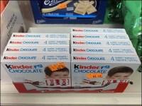 Solomia Ethnic Kinder Chocolate Merchandising
