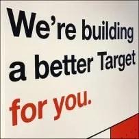 Building-a-Better-Target Remodeling SignBuilding-a-Better-Target Remodeling Sign