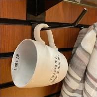 Seasonal Slatwall Favorite-Human Mug Hook