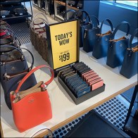Coach Today's-Wow Purse Display