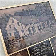 Hillside Farms Walkway Memorial Plaque Square1