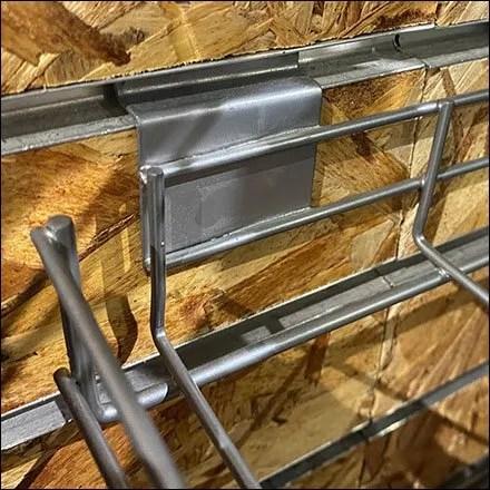 Slatwall Open-Wire Cap Tray Naked